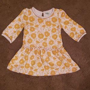Golden Flower dress